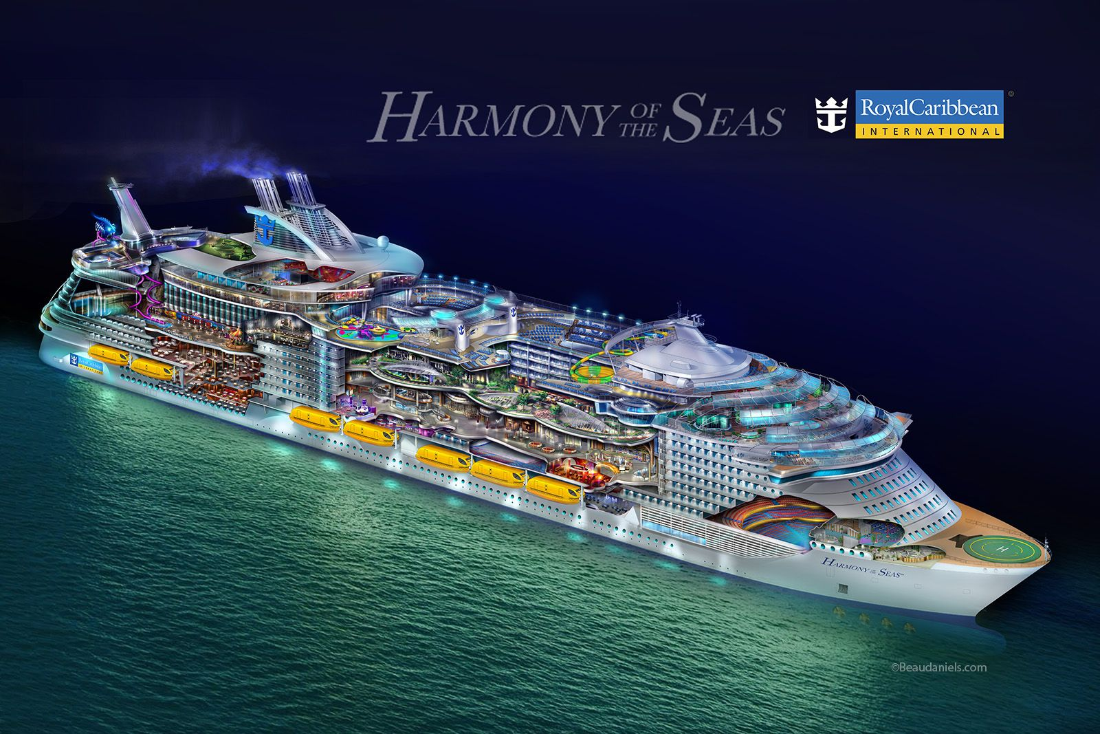 ROYAL CARIBBEAN INT: Harmony of the Seas - ЦЕНЫ СНИЖЕНЫ